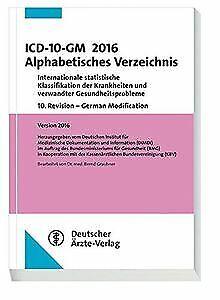 ICD-10-GM 2016 Alphabetisches Verzeichnis: International... | Buch | Zustand gut