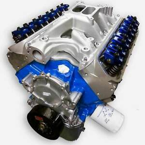 408 Small Block Ford Stroker Crate Engine Aluminum Heads 351W Block
