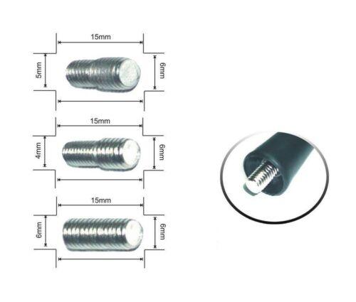 Antennenfuß brancher pied FM//AM noir 6,5 cm flexible NOUVEAU kurzstab Antenne