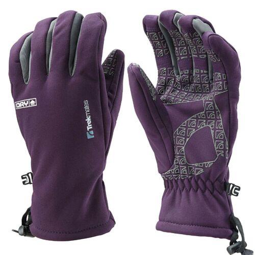 Trekmates Robinson L Damen Soft Shell Handschuh Fingerhandschuh mit Dry Membran Camping & Outdoor Bekleidung