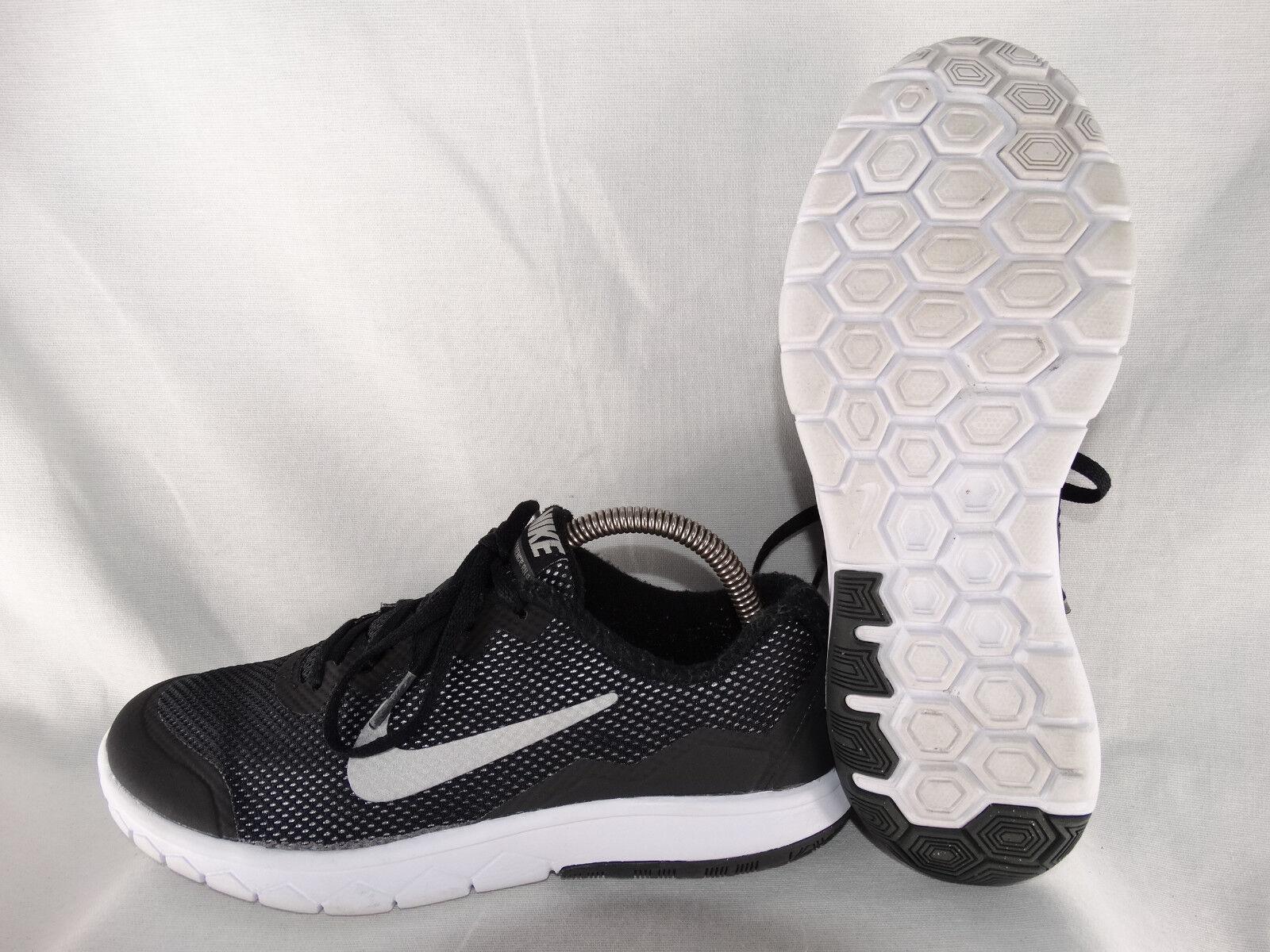 Nike Flex Experience 4 Damen Laufschuhe 749807-001 schwarz-silber EU 38,5 US 6Y