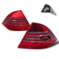 Led Tail Lights For 00-05 Mercedes Benz W220 S430 S500 S600 S55 Brake Red Smoke