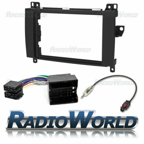 Mercedes-benz Sprinter Stereo Radio Kit de montaje Fascia Panel Adaptador Doble Din