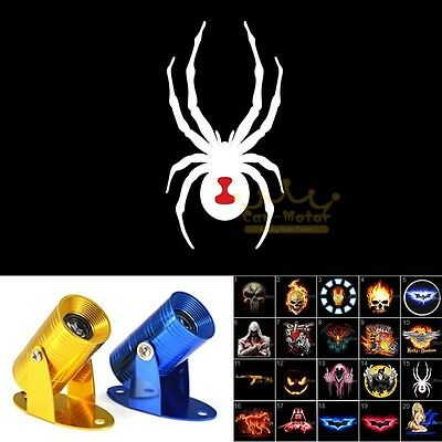 White Spider Motorcycle Laser Projector Ghost Shadow LED Light for Can-Am Spyder