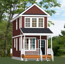 12x28 House -- 589 sq ft -- PDF Floor Plan -- Model 2A