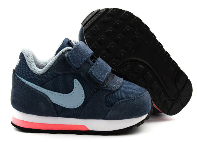 69f1eb1550 Nike MD Runner 2 TDV Baby/girl's Casual Trainers Navy Blue 25 for ...