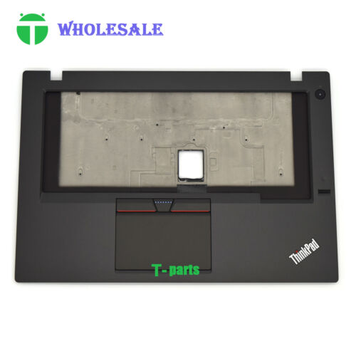 New 00HN551 for Lenovo Thinkpad T450 w// FPR Palmrest Upper Case KB Bezel ASM