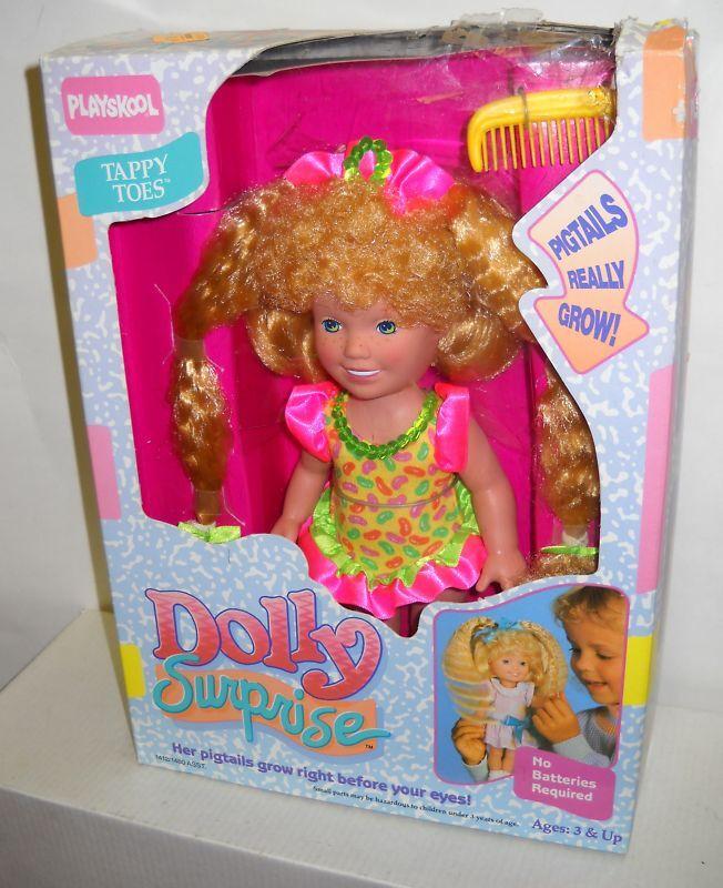 Nuevo en Caja Muñeca Playskool Dolly sorpresa Tappy Toes