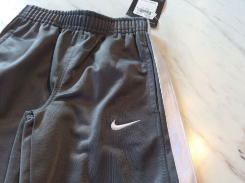 Boys Size 2T Nike Swoosh Pants Track Pants New With Tags Gray White Stripe
