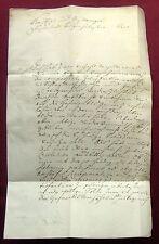 1732 SCHMIDMÜHLEN Lkr. Amberg Freiin ANNA ELISABETH VON VISCHBACH Brief mit e.U.