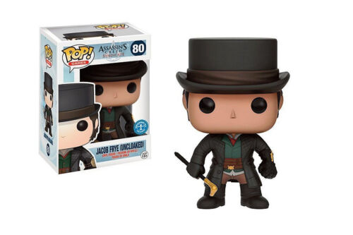 Funko POP originale da collez ASSASSIN/'S CREED SYNDICATE JACOB FRYE UNCLOAKED