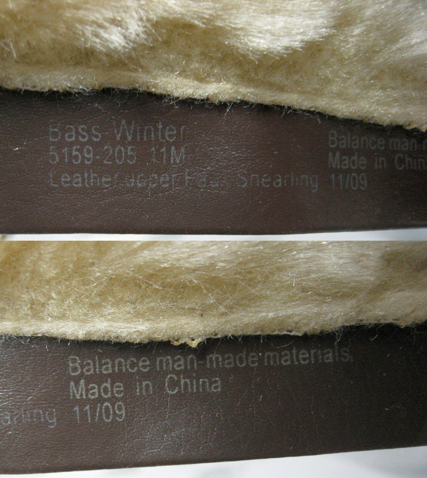 149 Cuero Gamuza Bajo Imitación Piel Rodilla Alto Prueba botas Zapatos De Mujer 11 M A Prueba Alto De Agua f27595