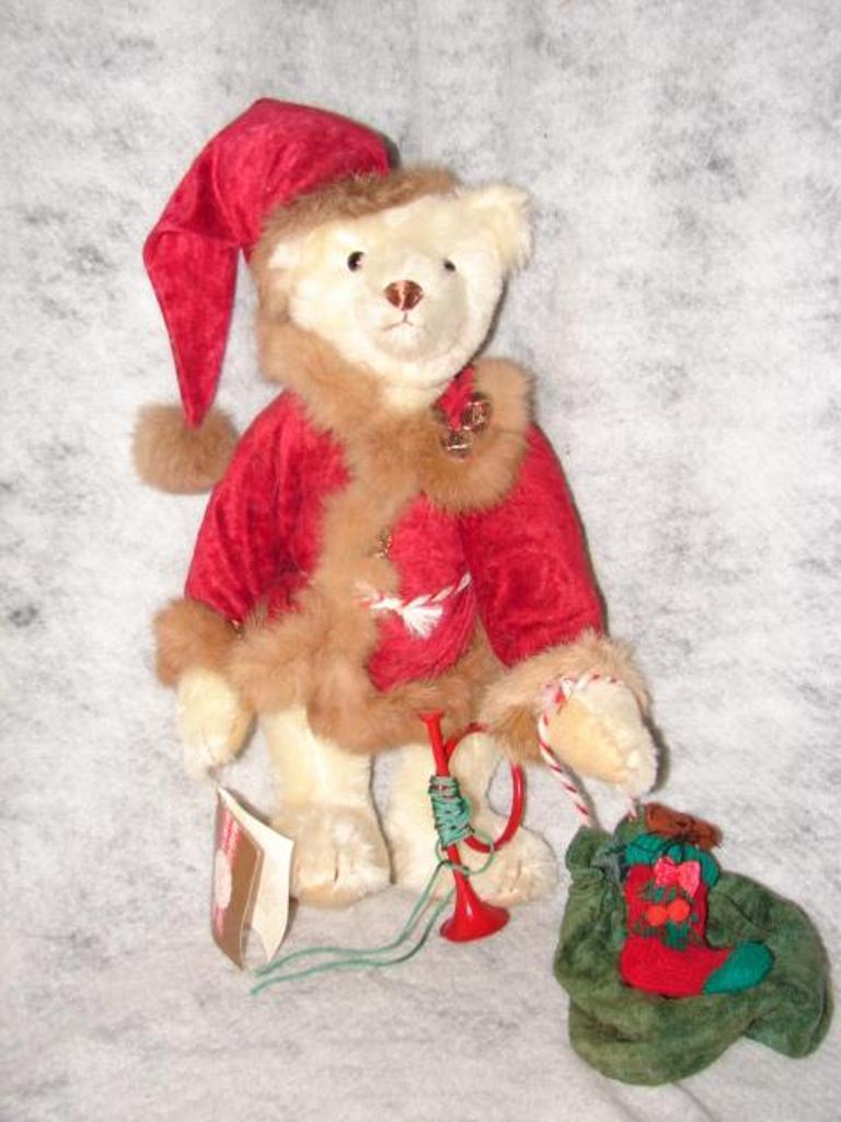 TEDDY BEAR BY Gorham Beverly Port Limited Edition Bp No.2 ~ marrone Teddy Bear