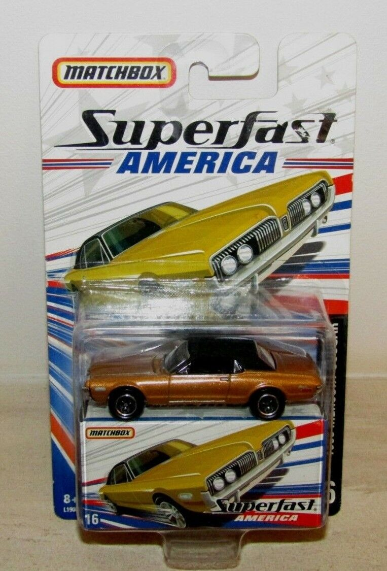 Matchbox Superfast 2006 America No 16 1968 Mercury Cougar MIB