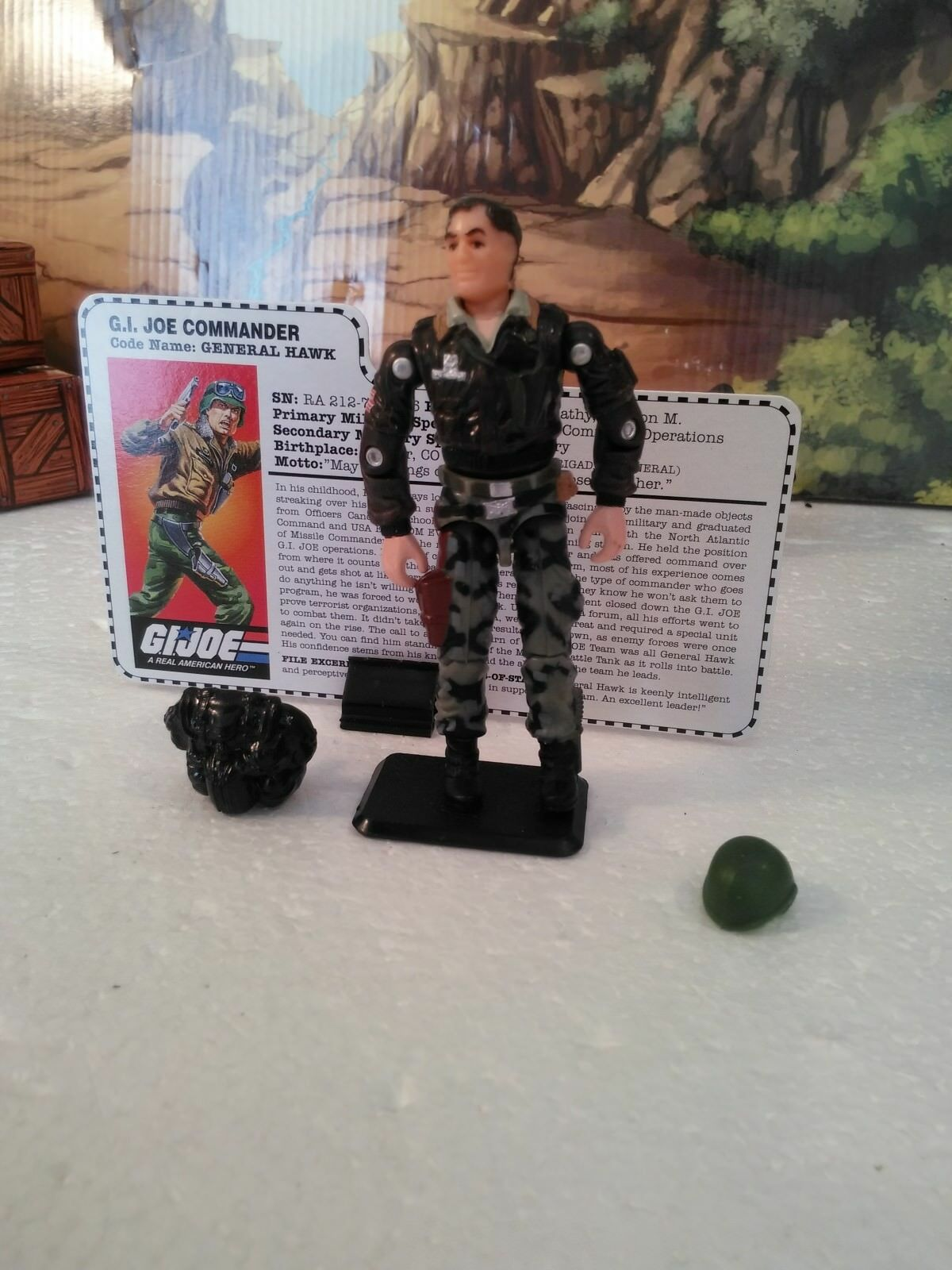 TRU Excl: 15Th Anniversary: 1997 G.I. Joe Commander: GENERAL HAWK(v5):100% CMP
