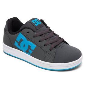 Scarpe-Ragazzo-Skate-DC-Shoes-Serial-Graffik-Boy-Grigio-Black-Blue-2019-Schuhe