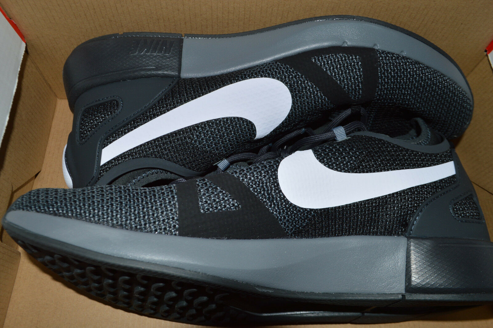 New Mens Nike Dual Racer Racer Racer Run Running shoes 918228-007 sz 11 Black Anthracite d96342