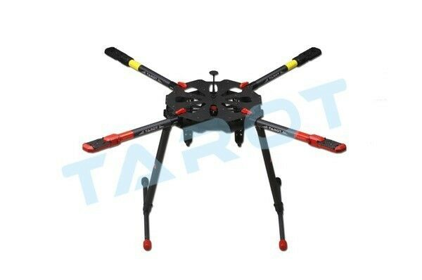TAROT X4 ALL Carbon QUAD copter Kit with Electric retractable landing skids set