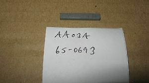65-0693 BSA B31 B33 M20 M21 CRANKSHAFT PINION KEY