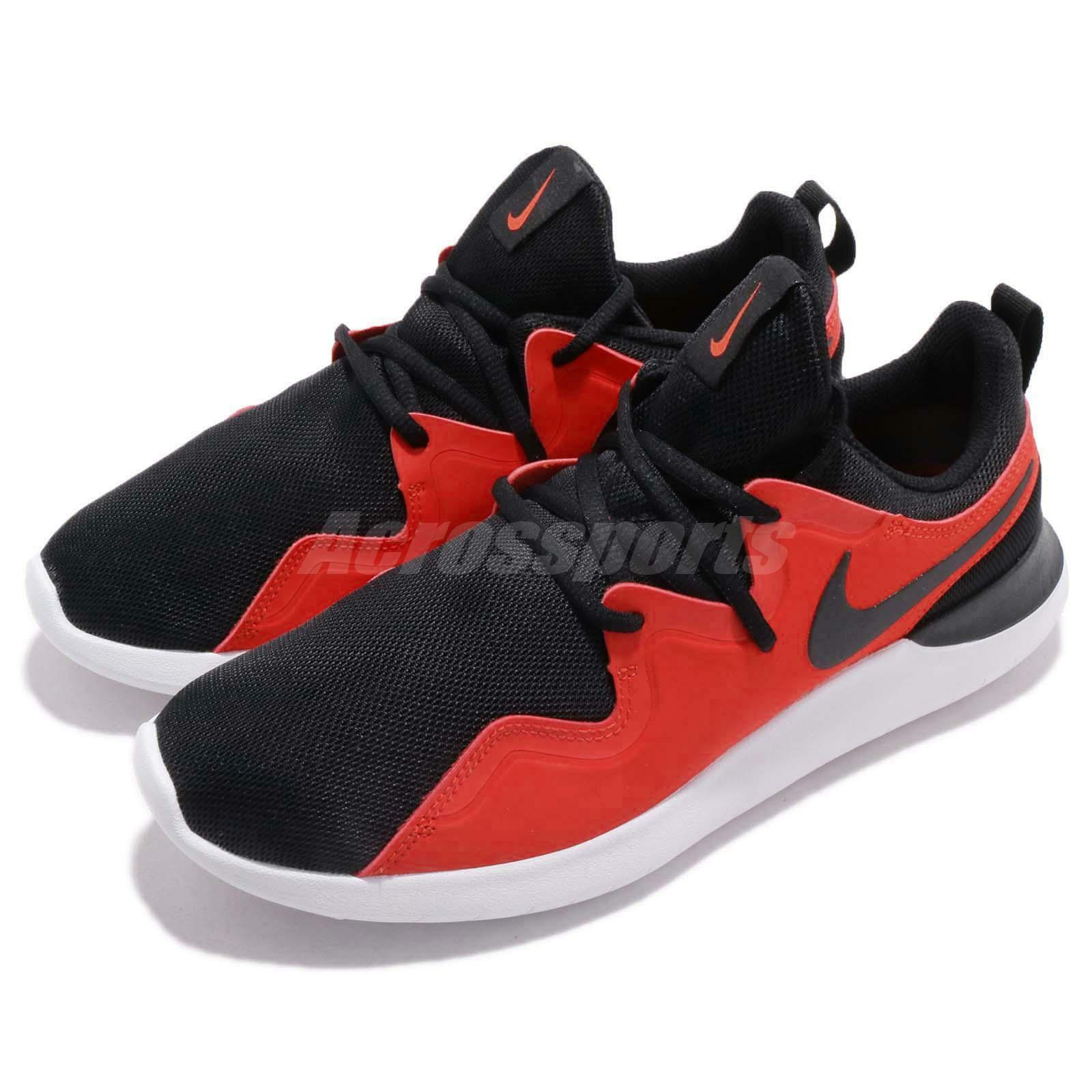 Nike Tessen Black Habablack Habablack Habablack Red White Men Running shoes Sneakers AA2160-009 294a91