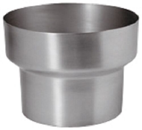 Titan-Zink Fallrohr Reduzierung//Reduktion 120mm//100mm