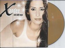 XANDEE - Cuts both ways CD SINGLE 2TR Europop 2004 GLORIA ESTEFAN COVER VERSION