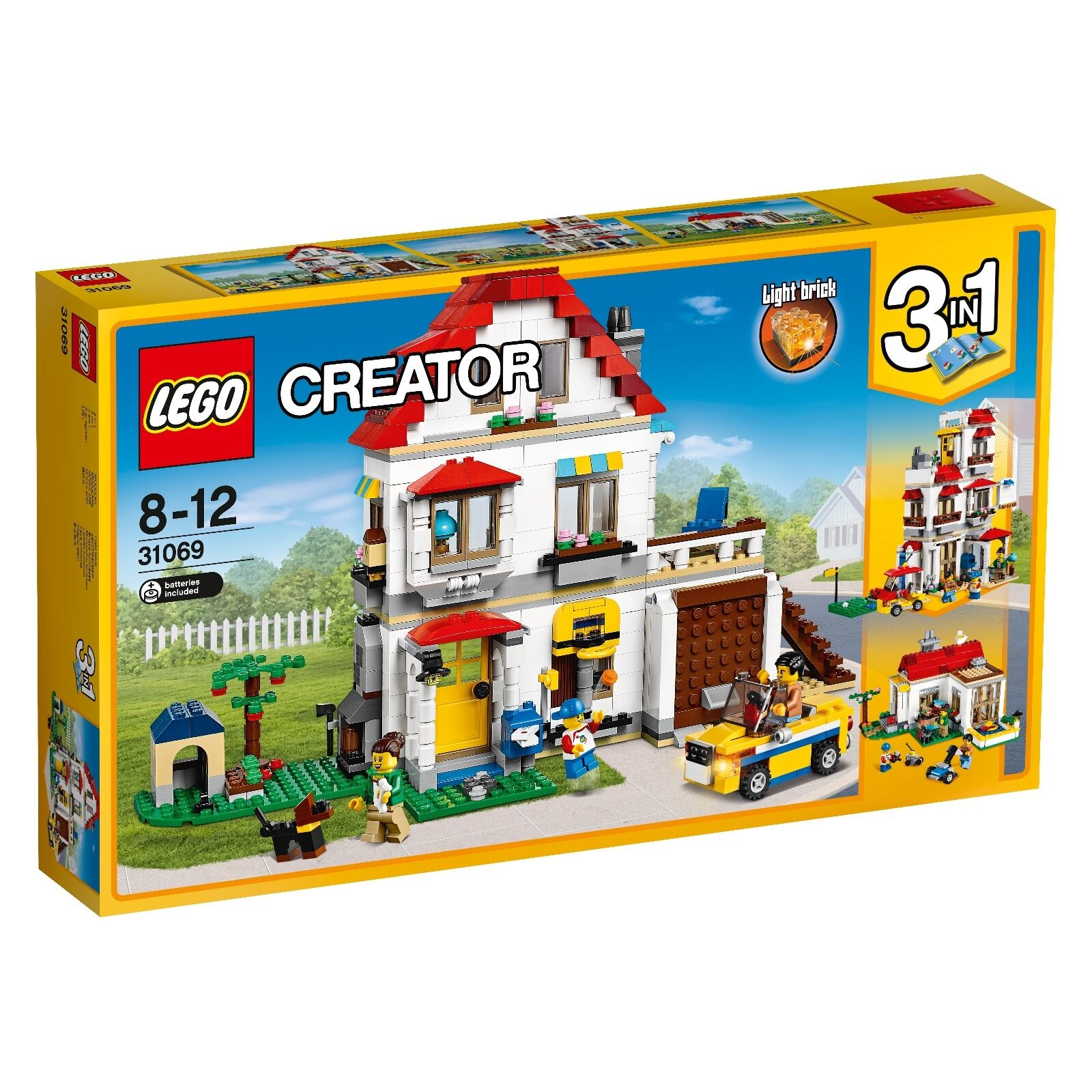 LEGO® Creator 31069 Familienvilla NEU OVP_ Modular Family Villa NEW MISB NRFB