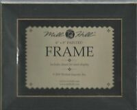 6 X 8 Hand Painted Matte Black Wood Frame Mill Hill