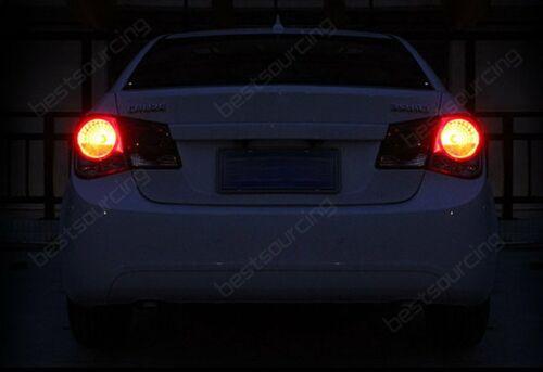 2x Updated Audi Brake Stop Side Light Bulbs SAMSUNG 15W Red LED Lamp BA15s P21W