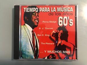 TIEMPO-PARA-LA-MUSICA-DE-LOS-ANOS-60-60-039-S-CD-PERCY-SLEDGE-BJ-THOMAS-BEN-E-KING