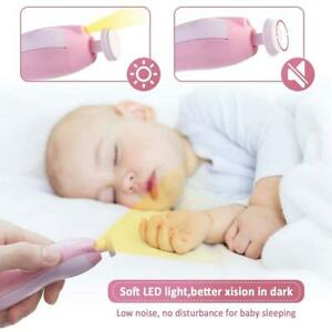 Electric-Baby-Nail-File-Clippers-Toes-Fingernail-Cutter-Trimmer-Manicure-C0F5