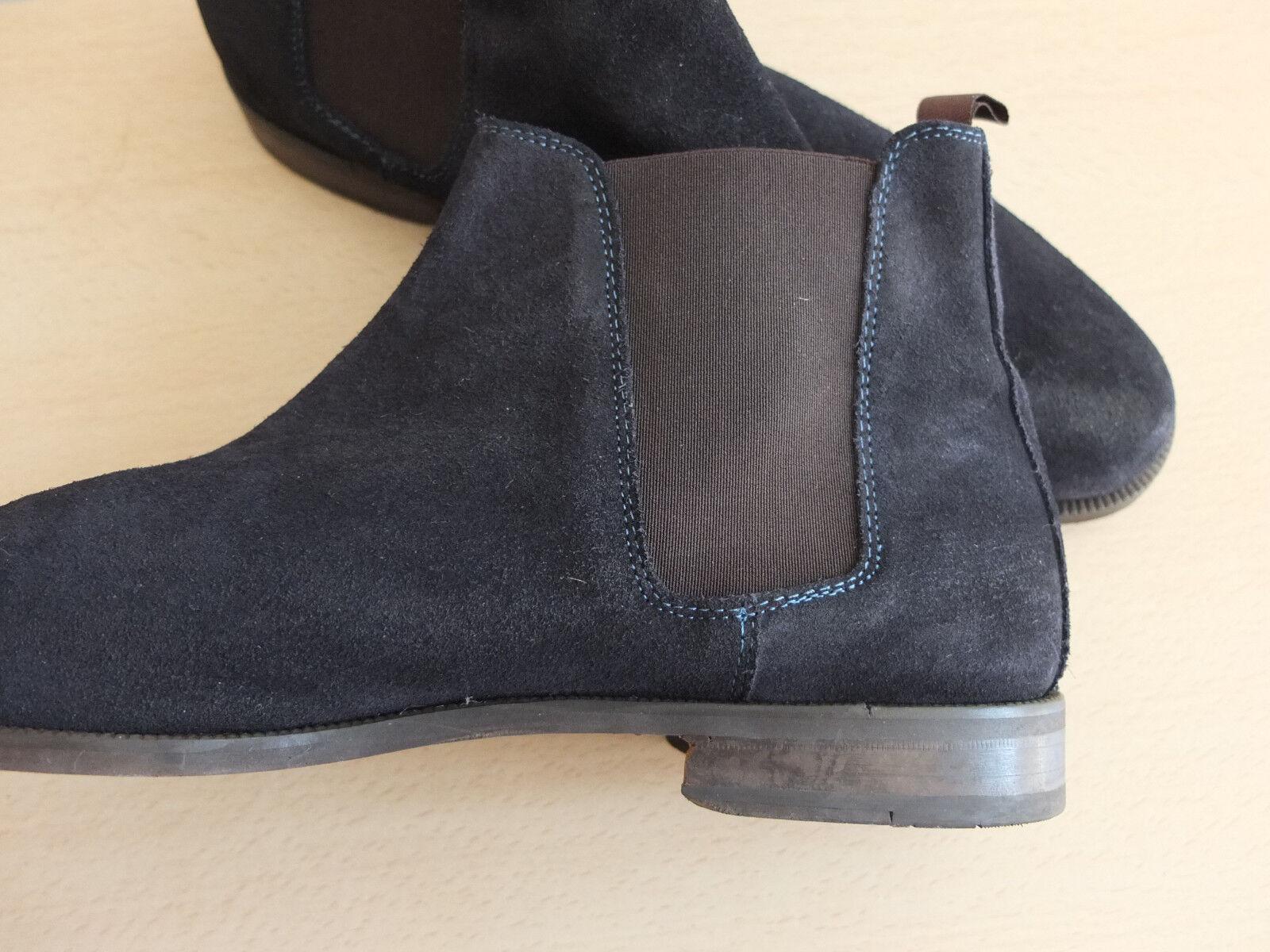 Massimo Boots Dutti cuero Boots Massimo top botines zapatos 7290ff