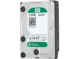Western Digital 2 TB Caviar Green SATA II Intellipower 64 MB Desktop Hard Drive