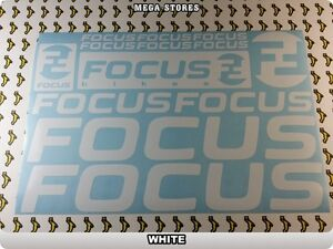 FOCUS Stickers Decals  Bicycles Bikes Cycles Frames Fork Mountain MTB BMX 55I
