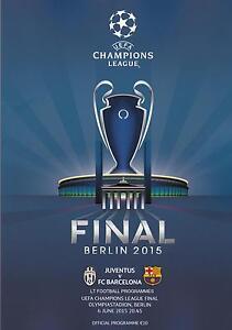 * 2015 UEFA CHAMPIONS LEAGUE FINAL - BARCELONA v JUVENTUS ...