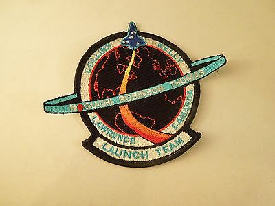NASA Shuttle Mission STS-114 Return to Flight Embroidered Iron On Patch Dark Blu