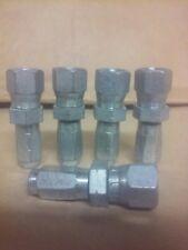 Lot Of 5 Reusable Hydraulic Hose Fittings Female Jic X 4 X 218 Hose