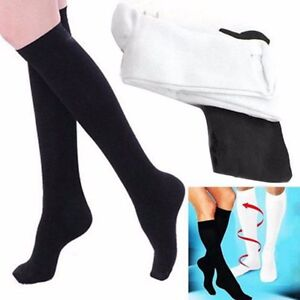 Details about Compression Varicose Vein Stocking Running Travel Leg Relief  Pain Support Socks