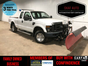 2009 Ford F 250 SNOW PLOW! 4X4! DIESEL! 6.5FT BOX! ONE OWNER!