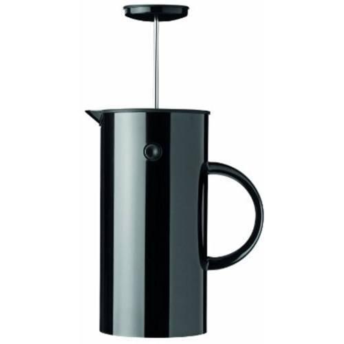 Stelton EM PRESS Cafetière, 8 Tasses, Noir