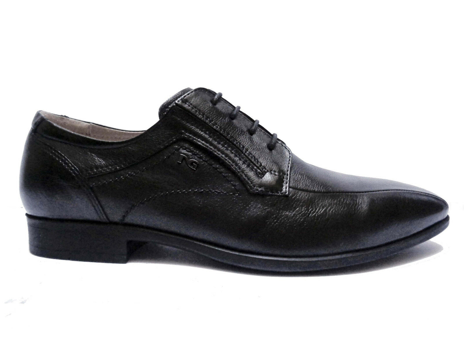 shoes men black GIARDINI 111 shoes DA men IN PELLE black FONDO GOMMA LEGGERA