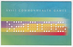2006-AUSTRALIA-STAMP-PACK-039-MELBOURNE-COMMONWEALTH-GAMES-039-STAMPS-MINI-SHEET-MNH