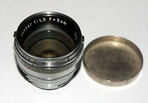 EXC-Carl-Zeiss-Sonnar-50-mm-1-5-Prime-Lens-Contax-rangefinders