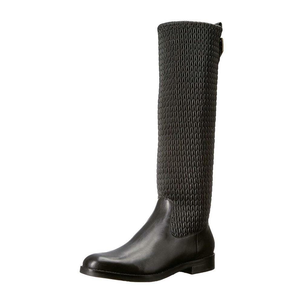 Cole Haan Lexi Grand Stretch Strap stivali Wouomo Stacked Heel Knee High stivali