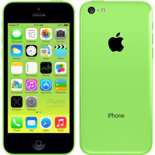 Smartphone Apple iPhone 5c - 16 Go - Vert - Téléphone Portable Débloqué
