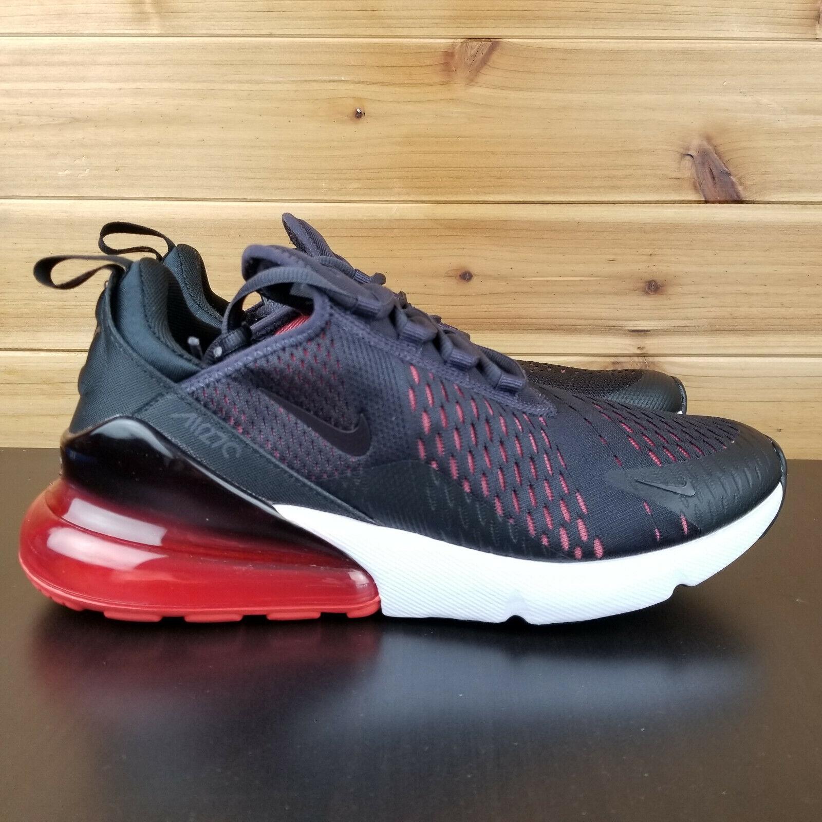 Nike Air Max 270 Running Men's shoes Oil Grey Black Habablack Red AH8050-013
