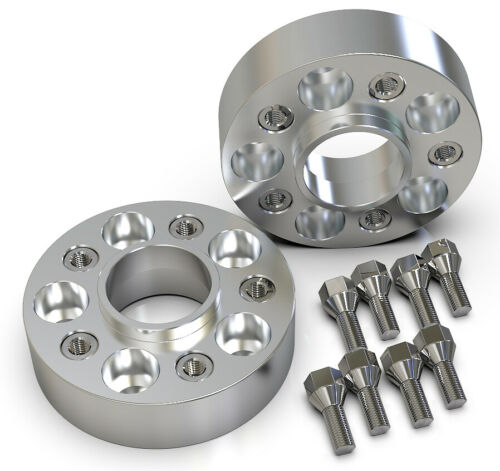 45MM 5X120 74.1MM HUBCENTRIC WHEEL SPACER KIT UK MADE BMW 5 SERIES E39 TOURING