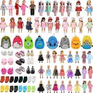 Doll-Clothes-Pajames-Shoes-for-18-034-American-Girl-Our-Generation-My-Life-Dolls
