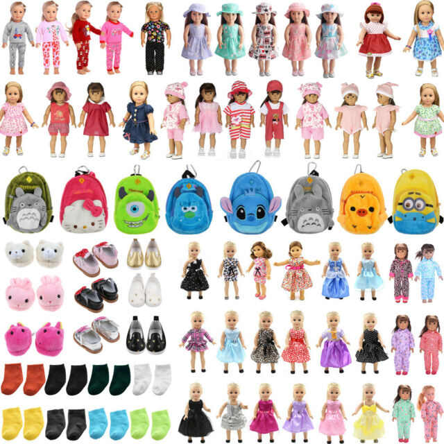 Doll Clothes Pajames Shoes for 18