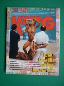 King-Magazine-April-1992-April-Madonna-Ciccone-Naomi-Campbell-Rare-Kane